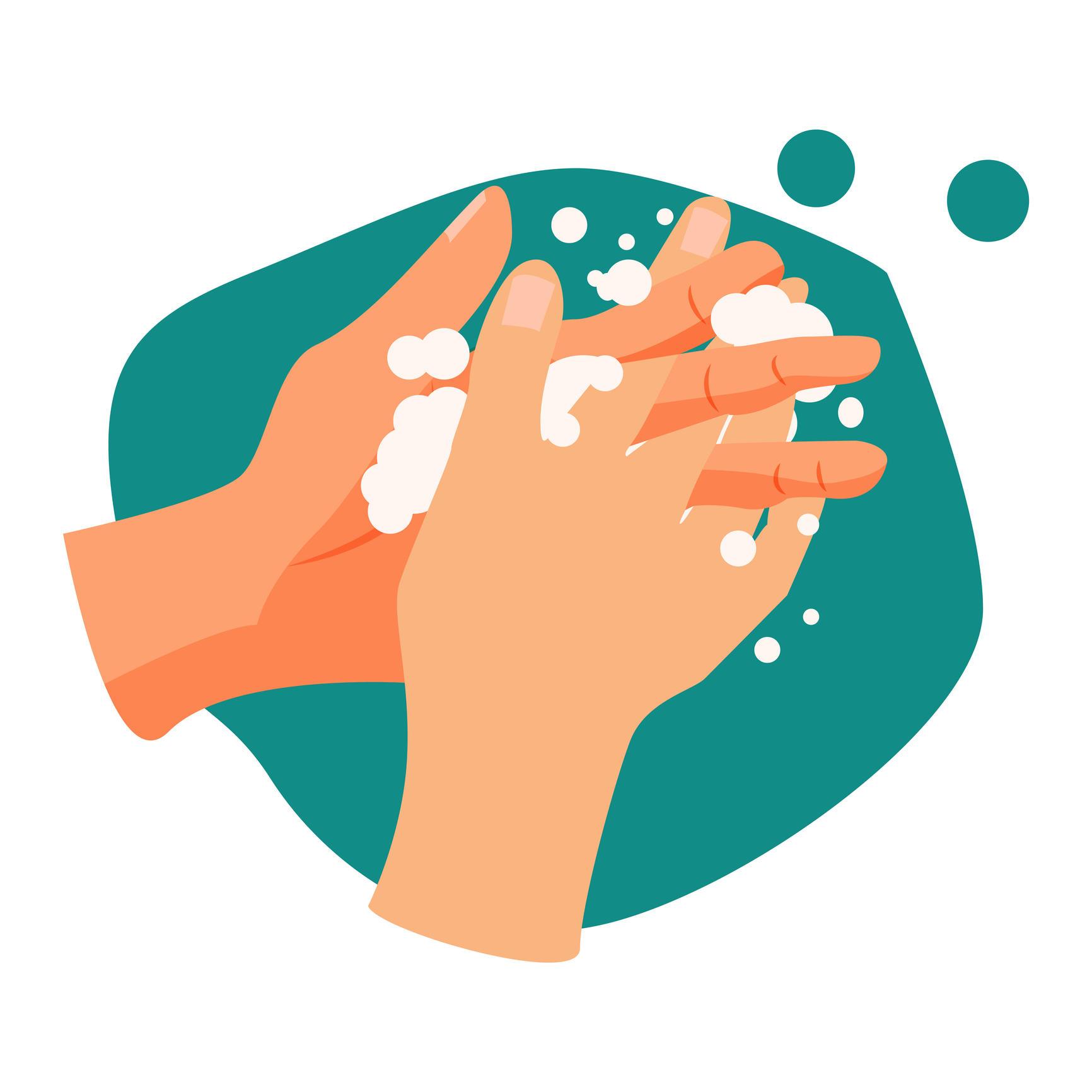 Handwashing illustration